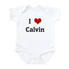 I Love Calvin Infant Bodysuit