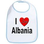 I Love Albania Bib