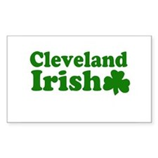 Cleveland Irish Rectangle Decal