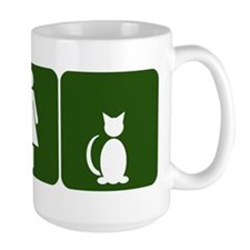Cat Restroom Sign Mug