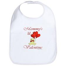 Mommy's lil Valentine Bib