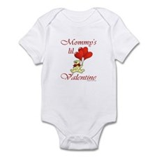 Mommy's lil Valentine Infant Bodysuit