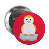 "Cute Penguin 2.25"" Button (10 pack)"