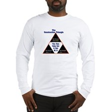 Construction Triangle Long Sleeve T-Shirt