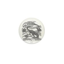 Hadrosaur Mini Button (10 pack)