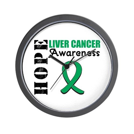 Hope Liver Cancer Wall Clock