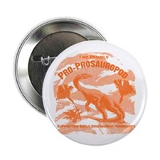 "Blue Pro-Prosauropod 2.25"" Button (10 pack)"