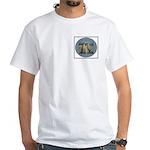 Cheetas 2 White T-Shirt