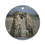 Cheetas 2 Ornament (Round)