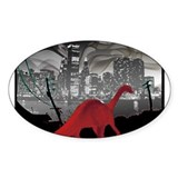 Urban Sauropod Oval Decal