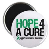 Hope4ACure LiverCancer Magnet