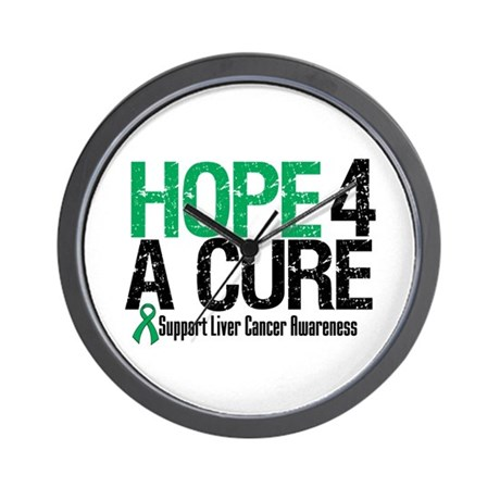 Hope4ACure LiverCancer Wall Clock