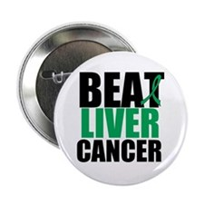 "Beat Liver Cancer 2.25"" Button (10 pack)"