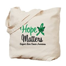 HopeMatters Liver Cancer Tote Bag