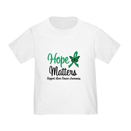 HopeMatters Liver Cancer Toddler T-Shirt