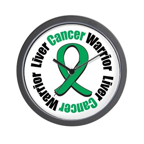 LiverCancerWarrior Wall Clock