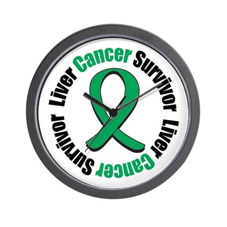 Liver Cancer Survivor Wall Clock
