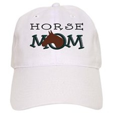 Horse Mom Bay Horse Baseball Cap