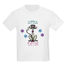 Expensive Little Diva Kids T-Shirt