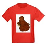English Trumpeter Red Kids Dark T-Shirt
