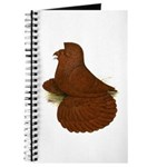 English Trumpeter Red Journal