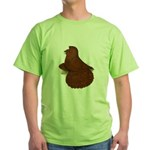 English Trumpeter Red Green T-Shirt