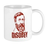 Thoreau Disobey Small Mug