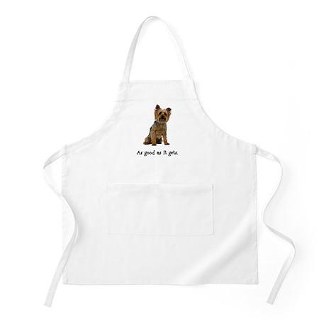 Good Silky Terrier BBQ Apron