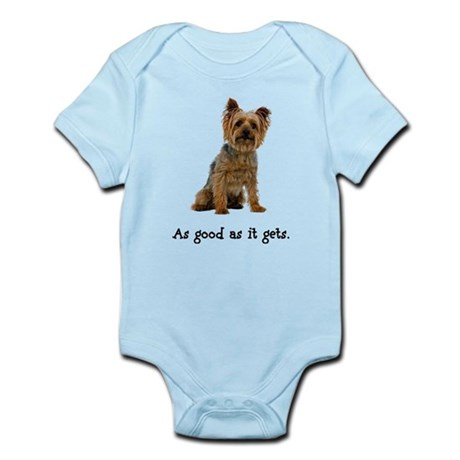 Good Silky Terrier Infant Bodysuit