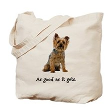Good Silky Terrier Tote Bag