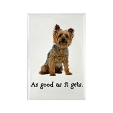 Good Silky Terrier Rectangle Magnet
