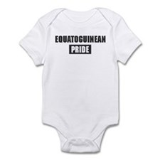 Equatoguinean pride Infant Bodysuit