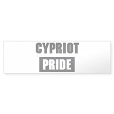 Cypriot pride Bumper Sticker (50 pk)