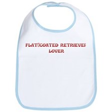Flat-Coated Retriever lover Bib
