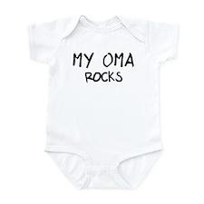 Oma Rocks Onesie