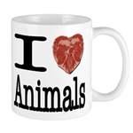I Heart Animals Mug