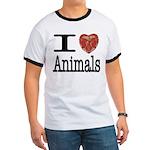 I Heart Animals Ringer T