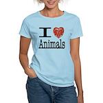 I Heart Animals Women's Light T-Shirt
