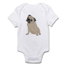 pug dog Infant Bodysuit