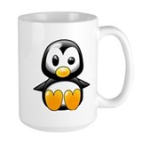 What the Heck Penguin Coffee Mug