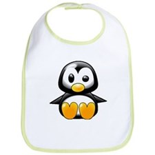 What the Heck Penguin Bib