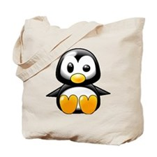 What the Heck Penguin Tote Bag