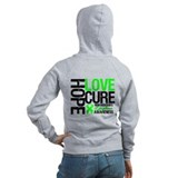 NonHodgkinHopeLoveCure Zip Hoodie
