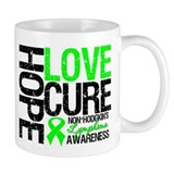 NonHodgkinHopeLoveCure Small Mug