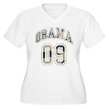 Barack Obama camo 09 T-Shirt