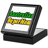 """Australian Super Mom"" Keepsake Box"