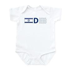 Israel Defense Infant Bodysuit