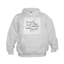 A FAMILY THAT FARTS TOGETHER Hoodie