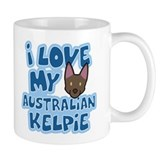 I Love my Australian Kelpie Mug