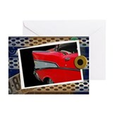 57 Chevy Bel Air Greeting Cards (Pk of 10)